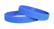 Inexpensive No-Bully wristbands in sizes for adult and youth.