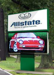 Roadside outdoor electronic message center