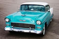 Blacktop Candy's 1955 Bel Air available for North Carolina Weekend Road Trip