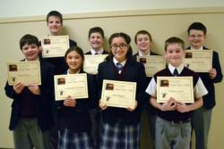 Everest Academy Students Answer Life's Questions at Catholic Schools