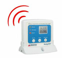 RFRHTemp2000A Wireless Humidity and Temperature Data Logger with Audible Alarms