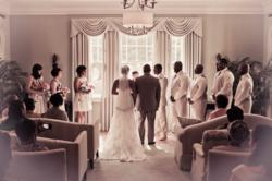 A wedding at The King's Daughters Inn