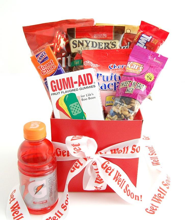reveals unique get well gift baskets