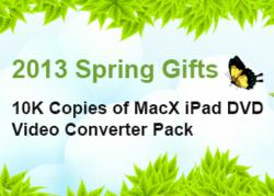 MacX 2013 Spring Promo - 10000 Copies Giveaway