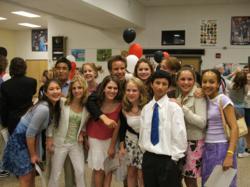 International students in an international school abroad