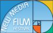 The Golden Mean a Fibonacci Symbol is part of the logo for New Media Film Festival.