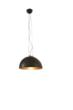 MOON1.BF  Moonlight Modern Pendant with Bronze Leaf Reflector by Aldo Bernardi