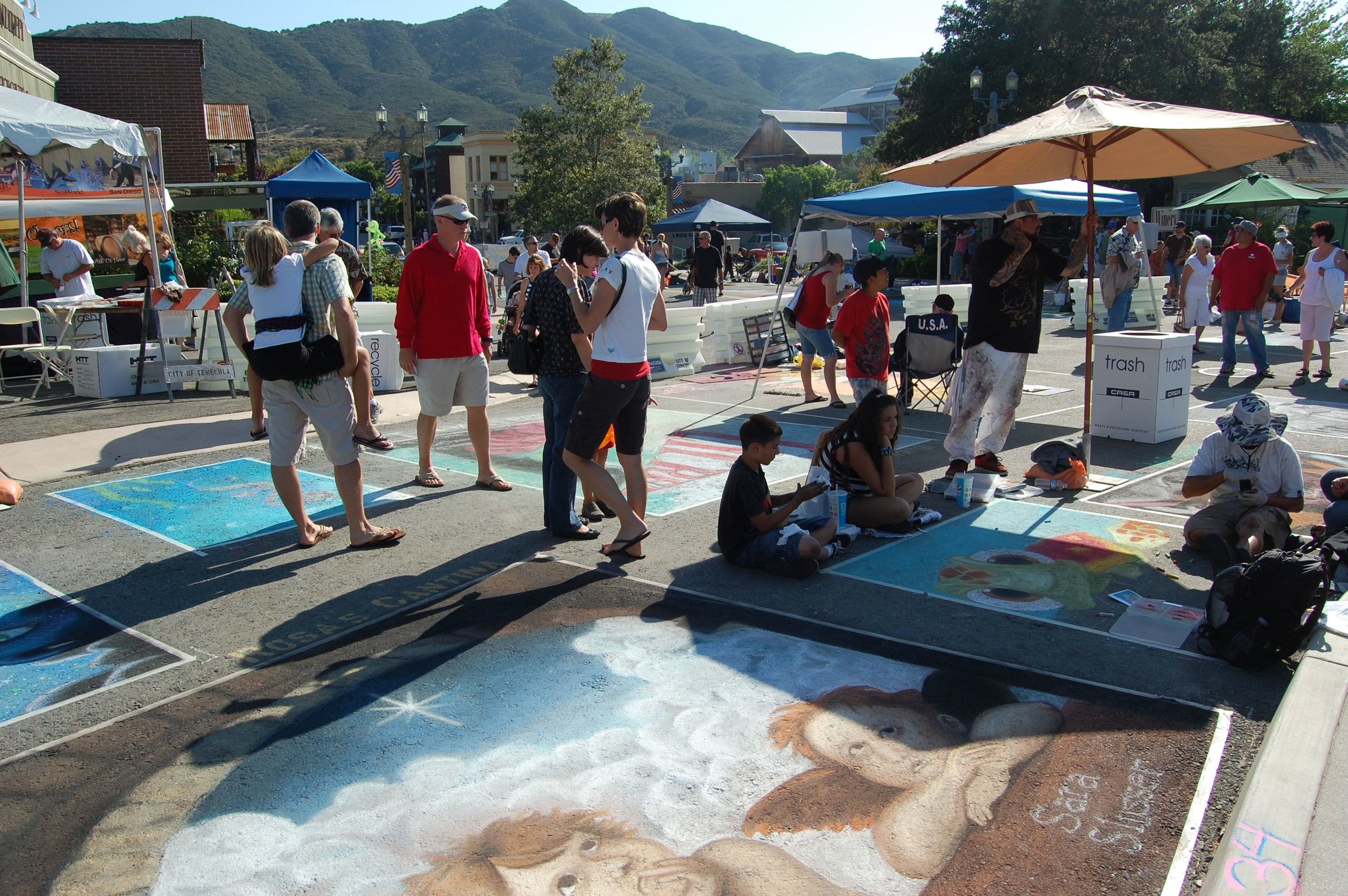 Announces summerfest 2013 top 10 for Paint and wine temecula
