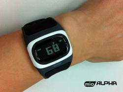 mio alpha, heart rate