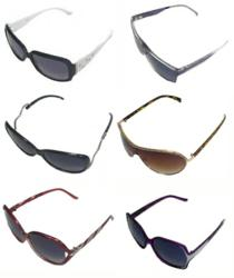 Sunglasses in trendy and fashion-forward designs