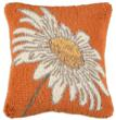 square daisy pillow