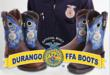 Durango Boots donates $5 for every FFA Rebel or FFA Lady Rebel sold