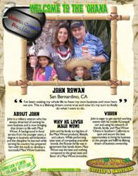 John Rowan becomes a Maui Wowi Franchisee