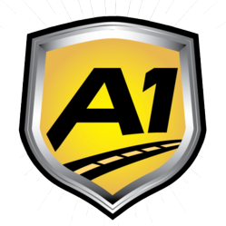 A1 Auto Transport Badge