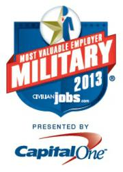 2013 Most Valuable Employers (MVE) for Military