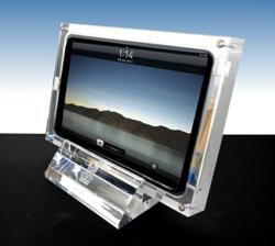 Secure and elegant display for the iPad & iPad Mini
