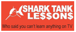 Shark Tank Lessons website launch