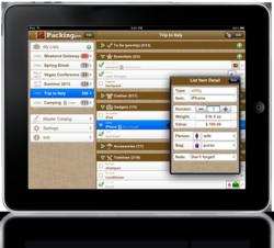 Packing Pro 8.3 on iPad