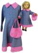 Matching Girl And Doll Little House On The Prairie Dresses