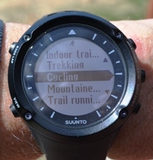 suunto ambit, heart rate, data