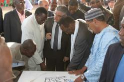 KMR Kankou Moussa Refinery first stone ceremony President dioncouda Traore