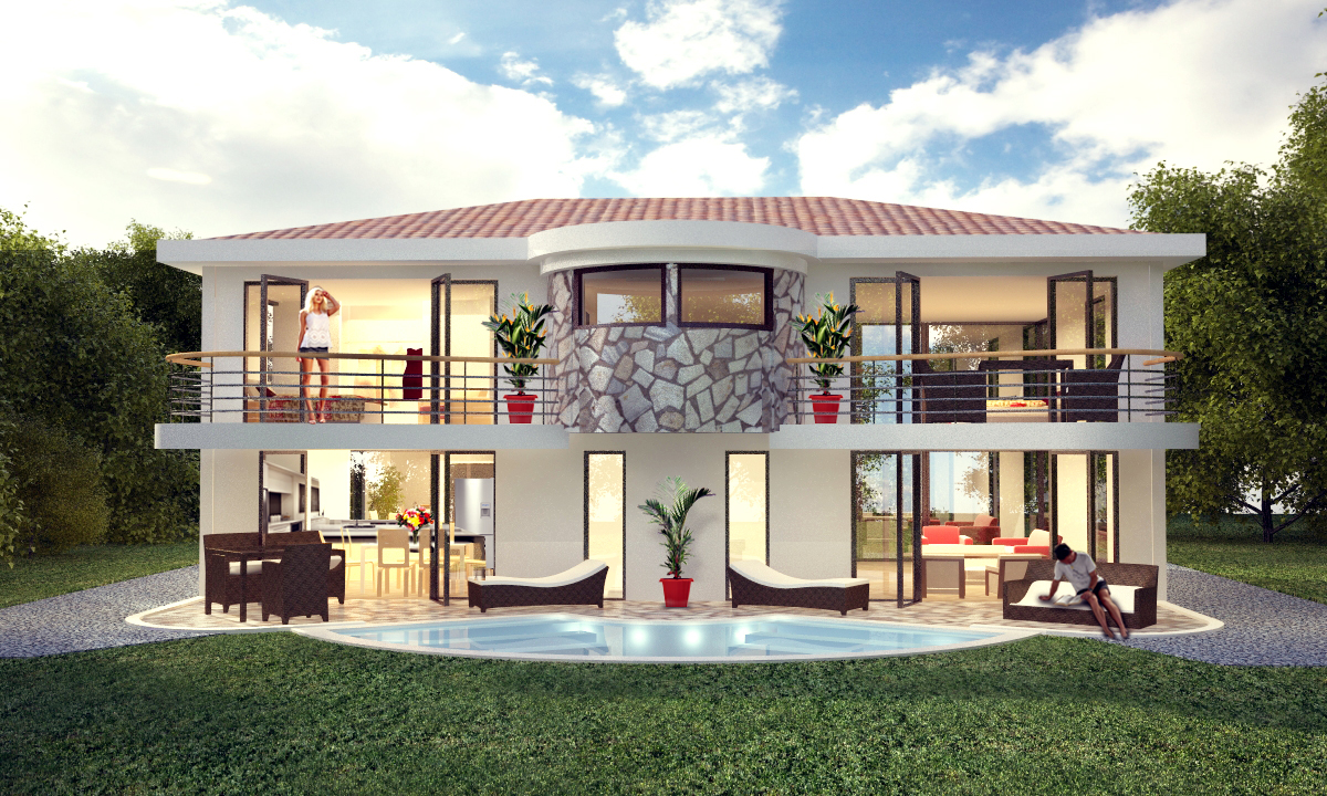 Pacific estates the newest costa rica real estate project Latest model houses