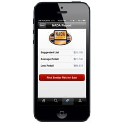 Rvt Com Upgrades Iphone App To Feature Integrated Nada Guides Rv Values