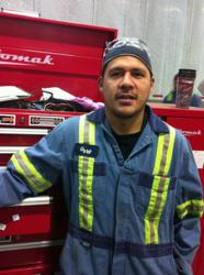 Trailer Wizards' Licensed Mechanic Osmar Salguero chosen for Top Apprentice Award in Alberta.
