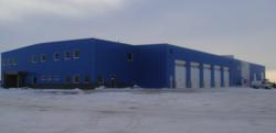New Winnipeg facility in Trailer Wizards Blue.