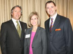 R. Jock Stafford &amp; Bronwyn Allen of High Profile, Inc. with Crayton Webb of Mary Kay Inc.