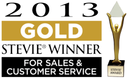 Salesify wins Gold Stevie award