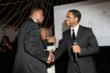 Basketball Hall of Fame legend Isiah Thomas receives Lifetime Humanitarian Award from Actor Larenz Tate