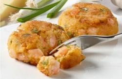 Shrimp &amp; Grits Cakes