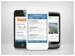 The mobile version of BoomTown's Opportunity Wall