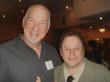 Jason Alexander with Rob Schiller (left), Emmy Award-winning Hollywood Director and Philanthropist
