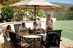 Passages Malibu, rehab, tennis court