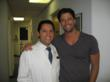 Dr. David Javdan and Actor James Scott