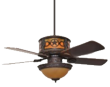 Sheridan Ceiling Fan With Star Design
