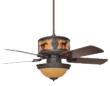 Sheridan Ceiling Fan With Horse Scene