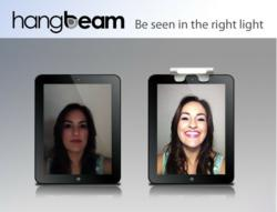 New Web Cam for Video Chat Light, Hangbeam, Announces Launch
