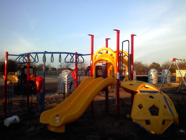 Playground Equipment Fairway Baptist Church Chooses