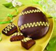 A Fudge Brownie Egg from Swiss Colony for Easter Dessert