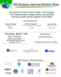 European-American Business Mixer event flyer