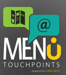 Menu Touchpoints