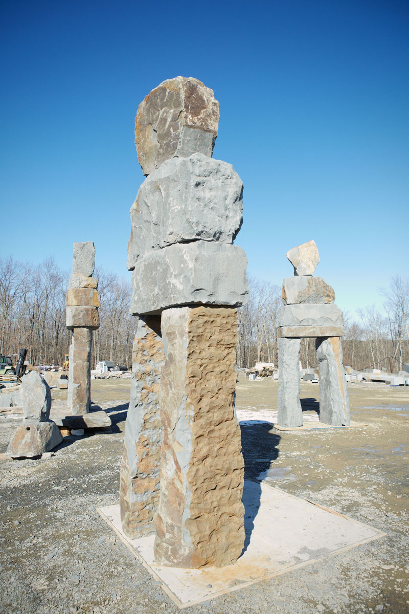 Nine Colossal Stone Figures By Artist Ugo Rondinone To Be