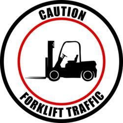 Forklift Safety Sign