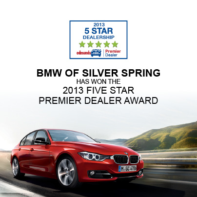 recognizes bmw of silver spring with 2013 five. Black Bedroom Furniture Sets. Home Design Ideas
