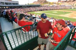 Cactus League Spring Training at Tempe Diablo Stadium