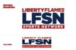 The Liberty Flames Sports Network logo