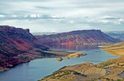 Flaming Gorge in Sweetwater County, Wyo.